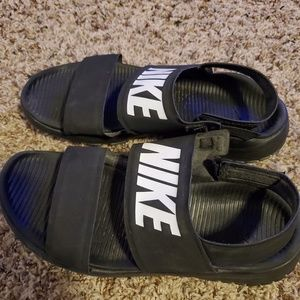 Nike slip on sandals